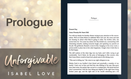 Excerpt of Unforgivable – PROLOGUE
